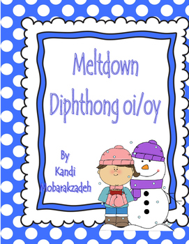 Diphthong oi/oy Meltdown Game
