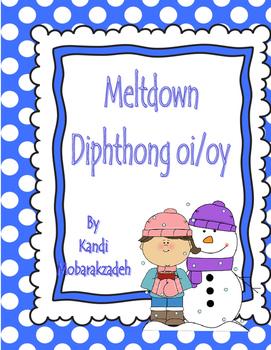 Diphthong oi/oy Meltdown Game