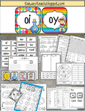 Diphthongs: oi oy , Word Work, Independent Work, Games | D