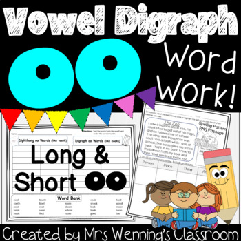 Spelling Pattern oo! A Week of Lesson Plans, Activities & Word Work!