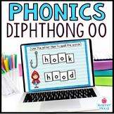 Digital Phonics Activities Diphthongs Word Work OO Google