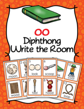 Diphthong oo Write the Room