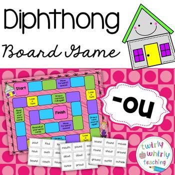 Diphthong ou board game