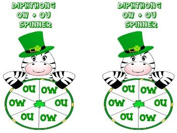 Diphthong ou, ow Game