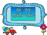 Diphthong oy oi mini unit