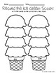 Diphthong's au/aw, oi/oy, ow/ou Ice Cream Stack Literacy Centers Bundle