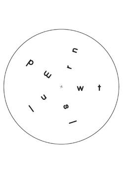 Diphthong_long vowel phonics wheel set (14 wheels)