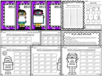 Diphthongs:  Phonics and Word Work Activities