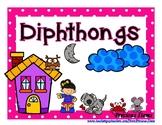 Diphthong Task Cards