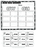 Diphthongs -AW- and -AU- Sorts   Cut and Paste Worksheets
