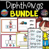 Diphthongs BOOM Cards™ BUNDLE  [ au, aw, oi, oy, ou, ow ]