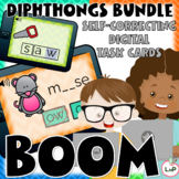 Diphthongs Boom Cards for Literacy Centers and Phonics Rotations
