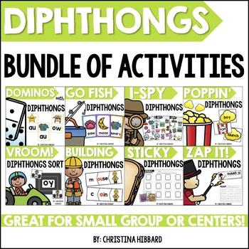 Diphthongs Bundle of Activities
