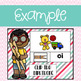 Digraph Clip Activities using Google Slides and Classroom
