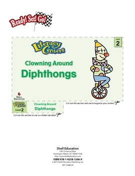 Diphthongs--Clowning Around Literacy Center (eLesson)