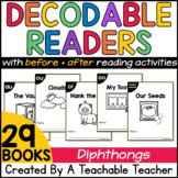 Diphthongs Decodable Readers | Printable Decodable Books f