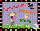 Diphthongs, Digraphs & More Classroom Posters