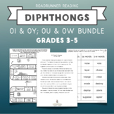 Diphthongs Fluency Passages or Close Readings Bundle
