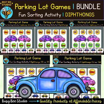 Vowel Diphthongs Games | Bundle