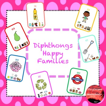 Diphthongs Happy Families