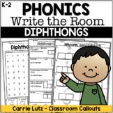 Diphthongs WRITE the ROOM
