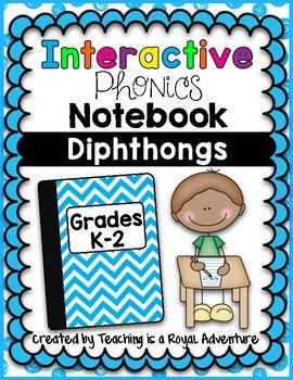 Diphthongs Interactive Notebook