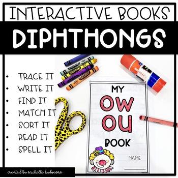 Diphthongs   Interactive Phonics Books   Phonics