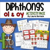 Diphthongs OI and OY Activity Pack