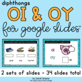 Diphthongs OI & OY for Google Slides™