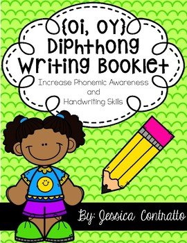 Diphthongs OI and OY Writing Book