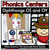 Diphthongs Oy and Oi Word Work Activities