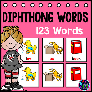 Diphthongs Pocket Charts