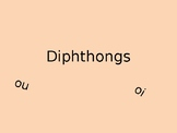 Diphthongs Powerpoint PPT