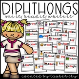 Diphthongs - See It, Read It, Write It