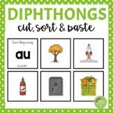 Diphthongs Sorting Activity (au, ew, aw, oo, oi, ou, oy, ow)
