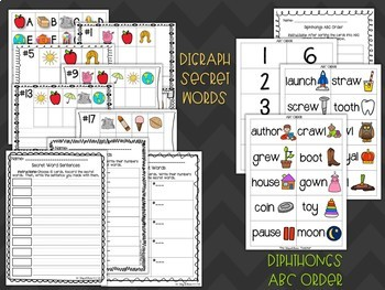 Diphthongs Stations