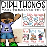 Diphthongs - Mini Practice Book