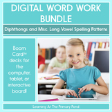 Diphthongs, Vowel Sounds of Y, & IGH  - Digital Phonics Activities  BOOM Cards™