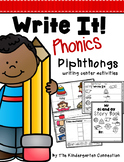 Diphthongs Writing Centers