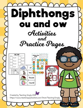 Vowels - Diphthongs: ou and ow Variant Vowels