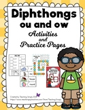 Diphthongs ou and ow