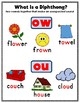 Vowels - Diphthongs: ou and ow;  Variant Vowels - RTI - St