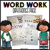 Diphthongs Word Work