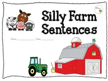 Diphthongs and R-Controlled Vowel Farm Animal Packet