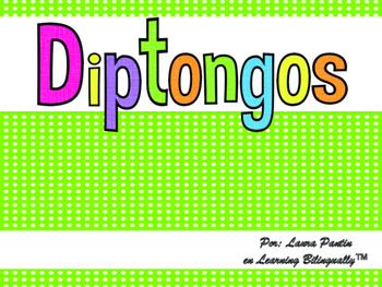 Diphthongs in Spanish