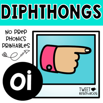 "Diphthongs ""oi"" Phonics Printables"