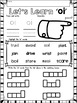 OI Diphthongs Phonics Word Work Printables