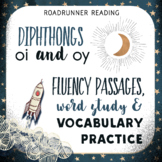 Diphthongs oi & oy Fluency Passages with Word Study & Vocabulary Activities