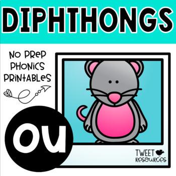 "Diphthongs ""ou"" Phonics Printables"