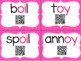 Diphthongs with QR Codes for OI and OY